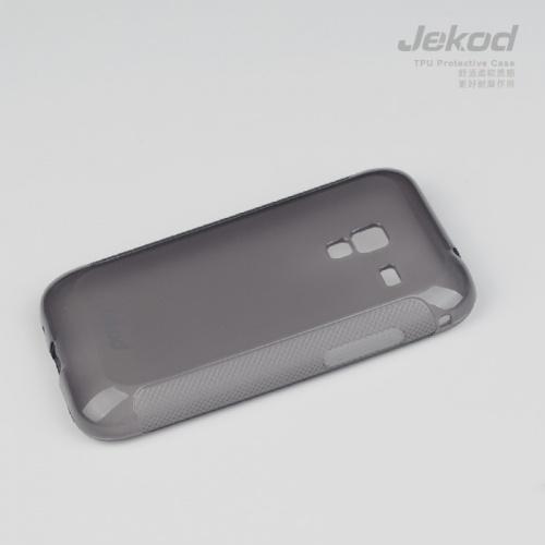 Silikonové ochranné pouzdro JEKOD TPU pro Nokia Asha 503 černé