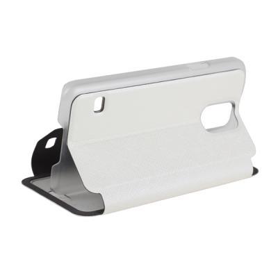 USAMS Pouzdro Touch Series Folio Samsung G900 Galaxy S5 White