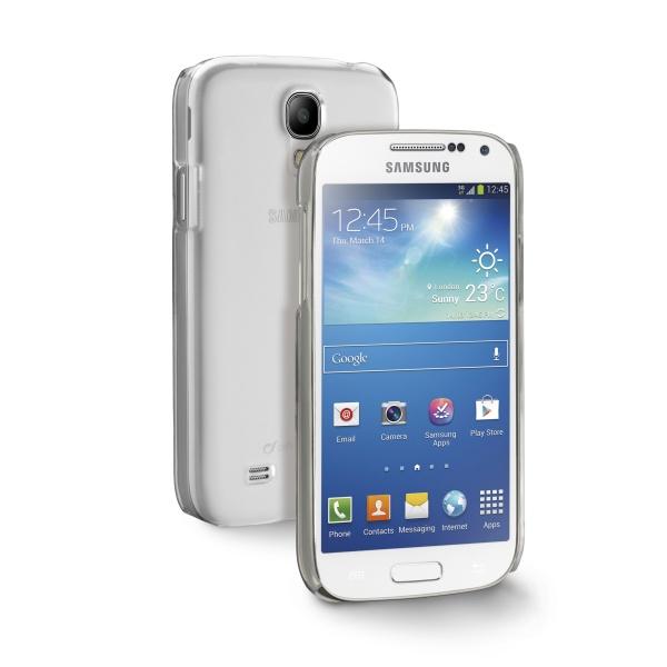 Zadní kryt CellularLine Invisible pro Samsung Galaxy S5, průhledný
