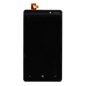 Přední kryt a dotyková plocha pro Nokia Lumia 820 Black