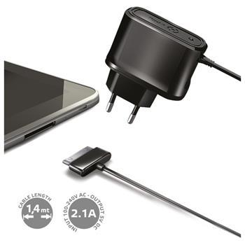 Cestovní nabíječka CELLY pro tablety Samsung Galaxy TAB, 2,1A