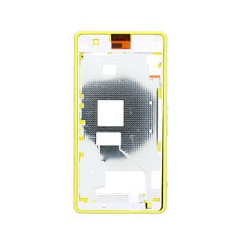 Přední a střední rámeček krytu pro Sony D5503 Xperia Z1 compact Lime