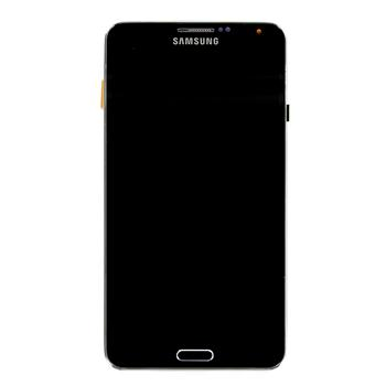 LCD Display + Dotyková Deska + Přední Kryt pro Samsung Galaxy Note 3, black
