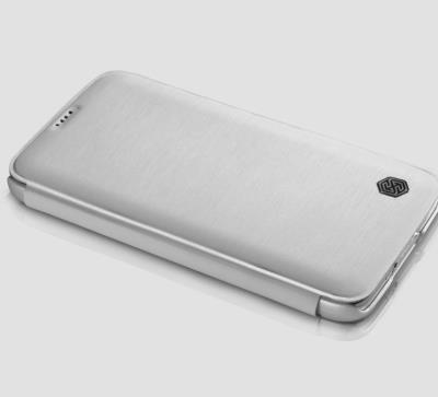 Flip pouzdro Nillkin Rain Folio pro Samsung G900 Galaxy S5, bílé
