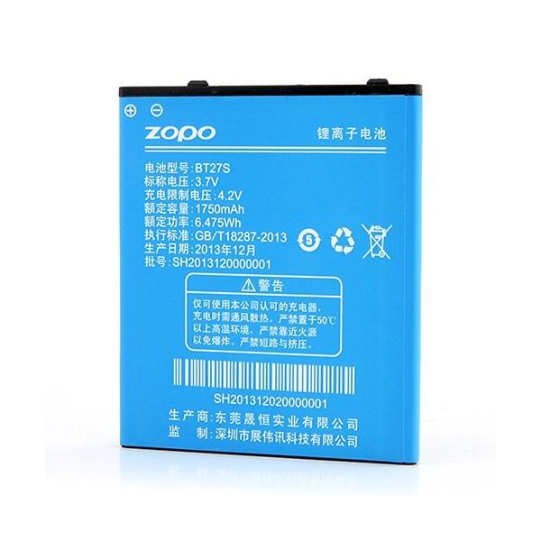 BT27S ZOPO Baterie 1750 mAh pro ZP700
