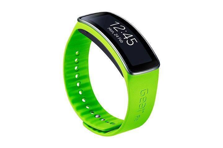 Samsung náramek - Standard ET-SR350BME pro Gear Fit Light Green