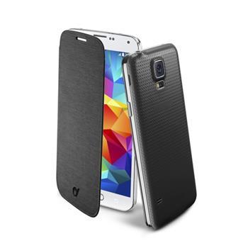 Pouzdro flip Samsung Galaxy S5 CellularLine Backbook černé