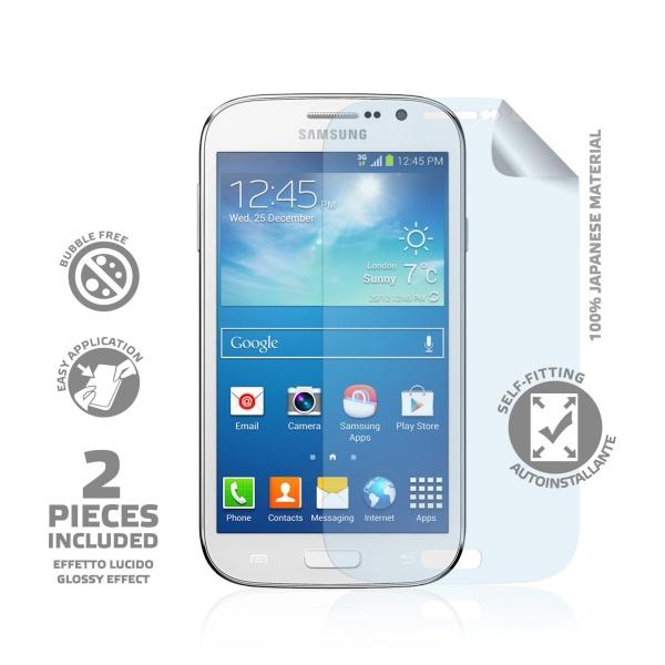 Prémiová ochranná fólie na displej CELLY pro Samsung i9060 Galaxy Grand Neo, lesklá, 2ks