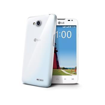 Silikonové TPU pouzdro CELLY Gelskin pro LG L70 (D320N), bezbarvé