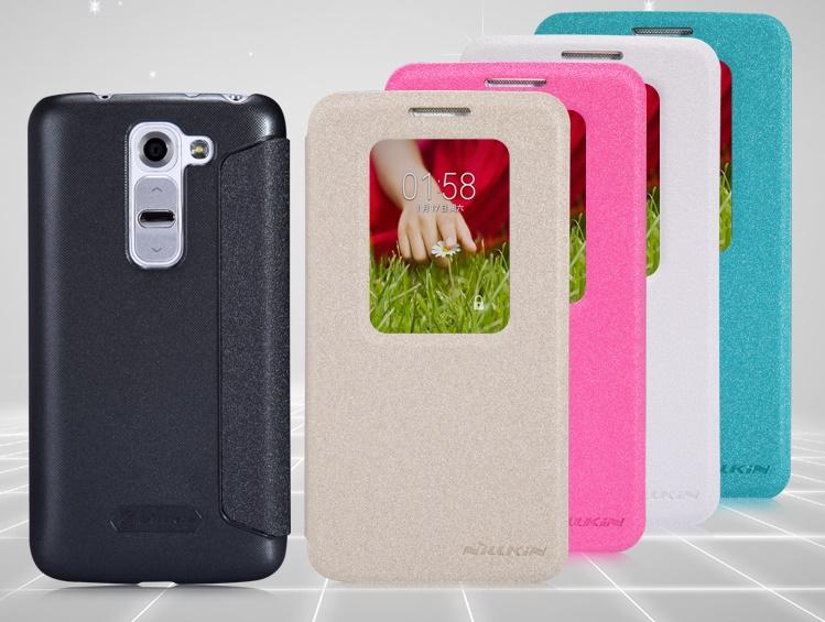Flip pouzdro Nillkin Sparkle S-View pro LG D610 G2mini, bílé