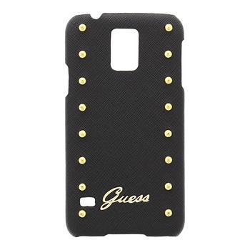 Pouzdro Guess Studded GUHCS5SAB pro Samsung G900 Galaxy S5, černé