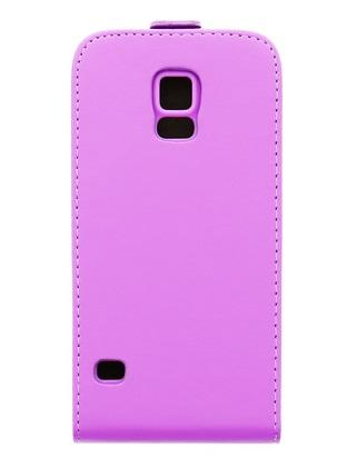 Pouzdro ForCell Slim Flip Flexi pro Samsung G900 Galaxy S5, fialové