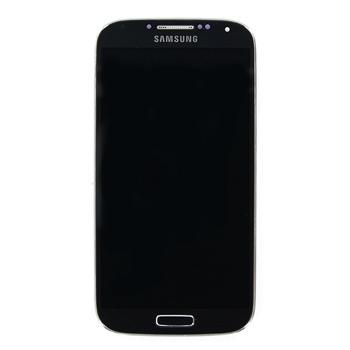 LCD Displej + Dotyková Deska + Přední Kryt Black Edition pro Samsung i9505 Galaxy S4 - originál