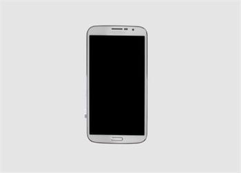 LCD Displej + Dotyková Deska + Přední Kryt White pro Samsung i9200/i9205 Galaxy Mega 6.3 - originál