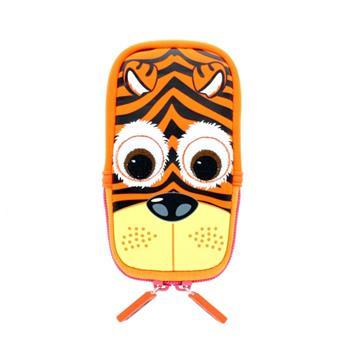 Univerzální stylové pouzdro TabZOO pro mobilní telefony, motiv tygr