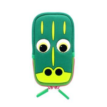 Univerzální stylové pouzdro TabZOO pro mobilní telefony, motiv krokodýl