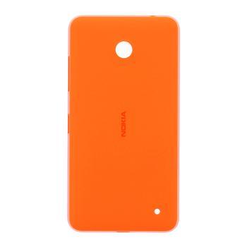 Zadní kryt Baterie pro Nokia Lumia 630, oranžový