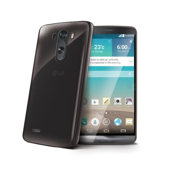 Silikonové TPU pouzdro CELLY Gelskin pro LG G3 (D855), černé