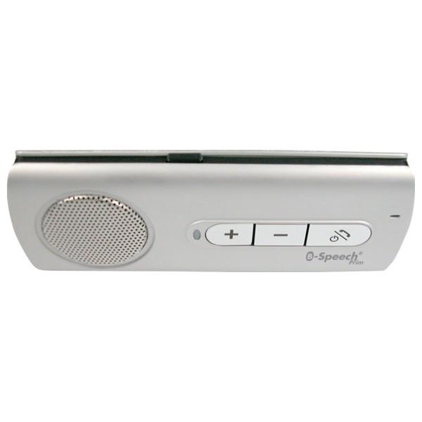 Bluetooth bezdrátové handsfree B-Speech Prim Easy na stínítko, Multipoint, stříbrný