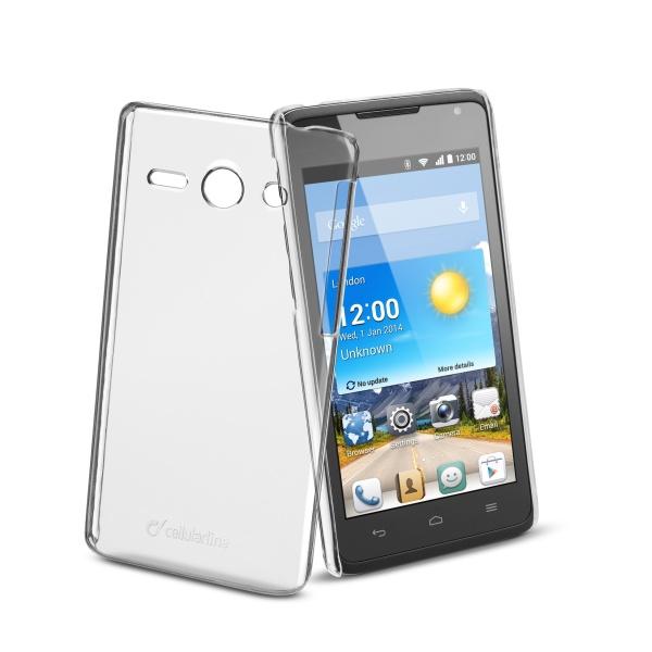 Ochranné pouzdro CellularLine Invisible pro Huawei Ascend Y530, průhledný
