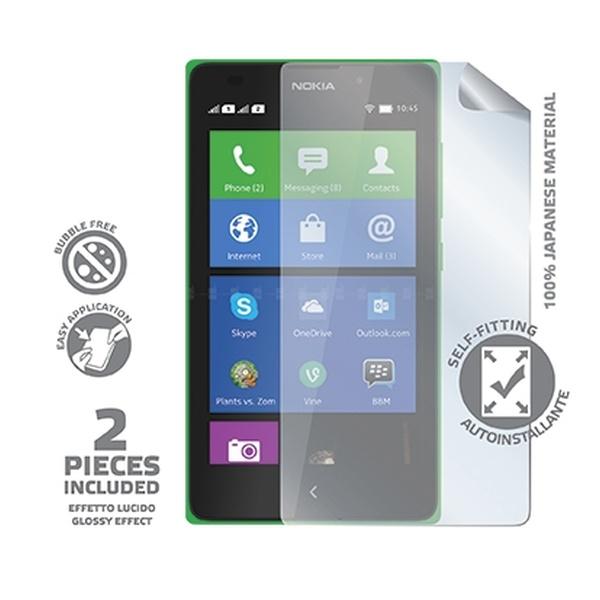 Prémiová ochranná fólie displeje CELLY pro Nokia XL, lesklá, 2ks