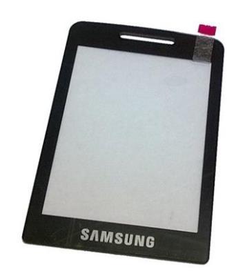 Dotykové sklo, deska pro mobil Samsung S5610 Metallic Silver
