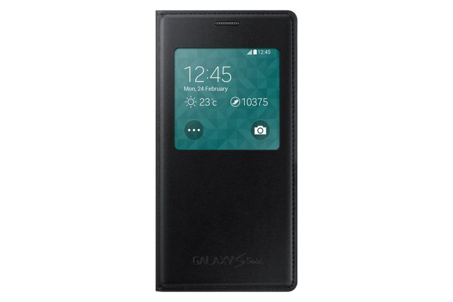 Pouzdro na mobil Samsung Galaxy S5 mini (G800) EF-CG800BKE S-view černé