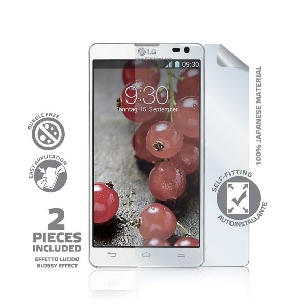 Prémiová ochranná fólie displeje CELLY pro Sony Xperia Z1 Compact, lesklá, 2ks