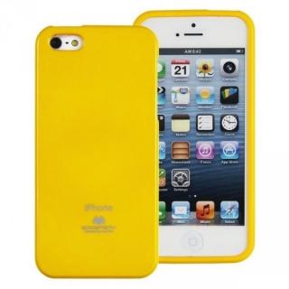 Mercury pouzdro Jelly case Samsung i9195 Galaxy S4 mini žluté