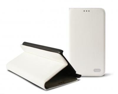 Odklápěcí pouzdro K6 Folio Flip pro Samsung G350 Galaxy Core Plus, bílé (Blister)