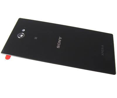Zadní kryt baterie pro Sony D2303 Xperia M2, Black