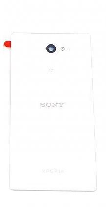 Zadní kryt baterie pro Sony D2303 Xperia M2, White