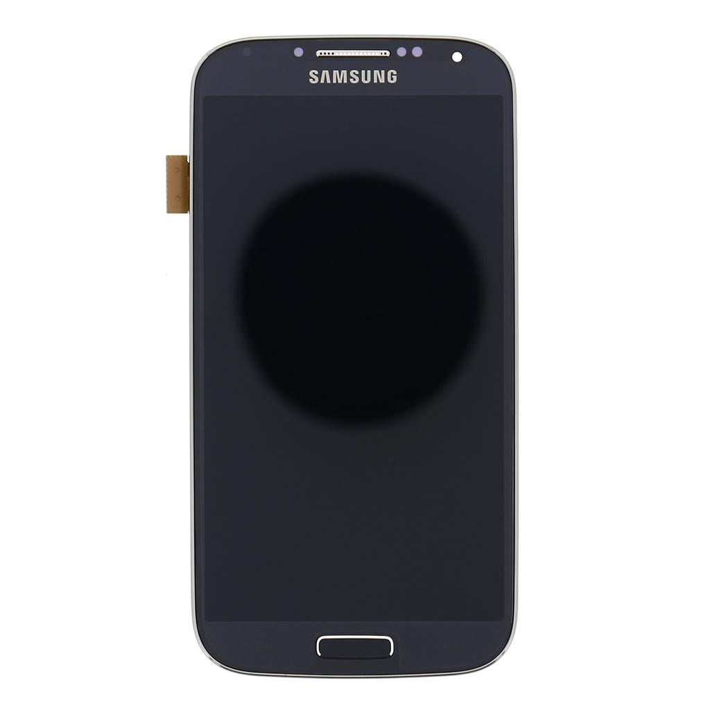 LCD display + Dotyk + Přední kryt Black pro Samsung i9506 Galaxy S4 LTE - originál