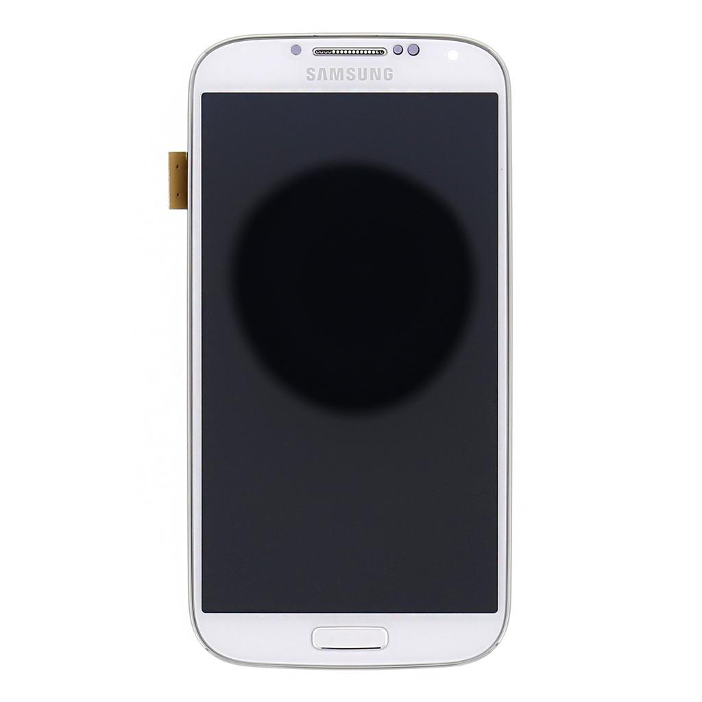 LCD display + Dotyk + Přední kryt White pro Samsung i9506 Galaxy S4 LTE - originál