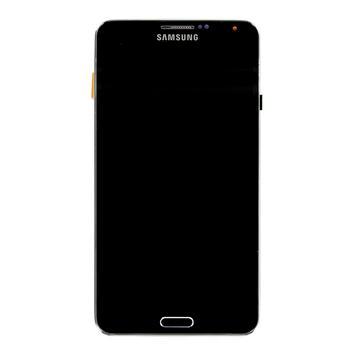 LCD Display + Dotyková Deska + Přední Kryt Black pro Samsung N7505 Galaxy Note3 Neo - originál