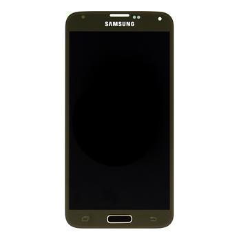 LCD display + dotyková deska pro Samsung G900 Galaxy S5 Gold