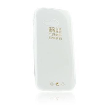 Ultra Slim 0,3mm Silikonové Pouzdro Transparent pro LG D405 L90