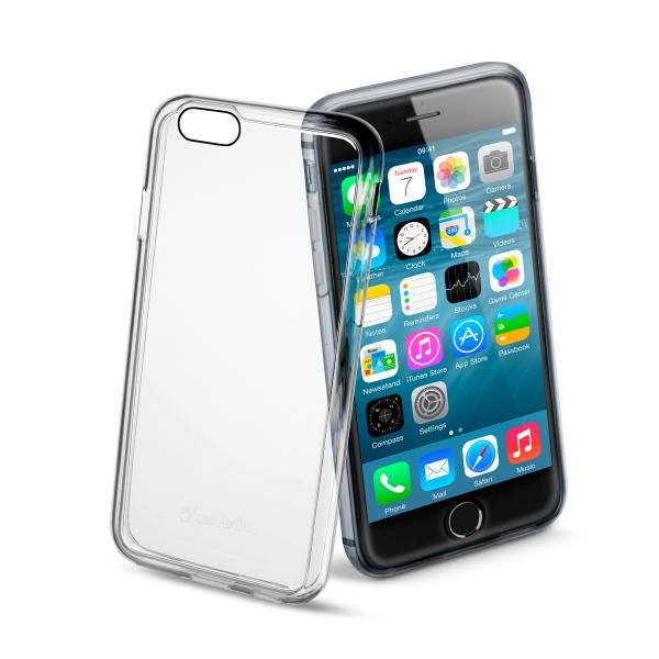 Ochranné pouzdro CellularLine Invisible pro Apple iPhone 6, průhledné