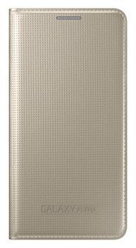 Samsung Folio Flip pouzdro EF-FG850BF Galaxy Alpha Gold
