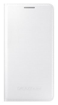 Originální pouzdro na Samsung Galaxy Alpha EF-FG850BW bílé
