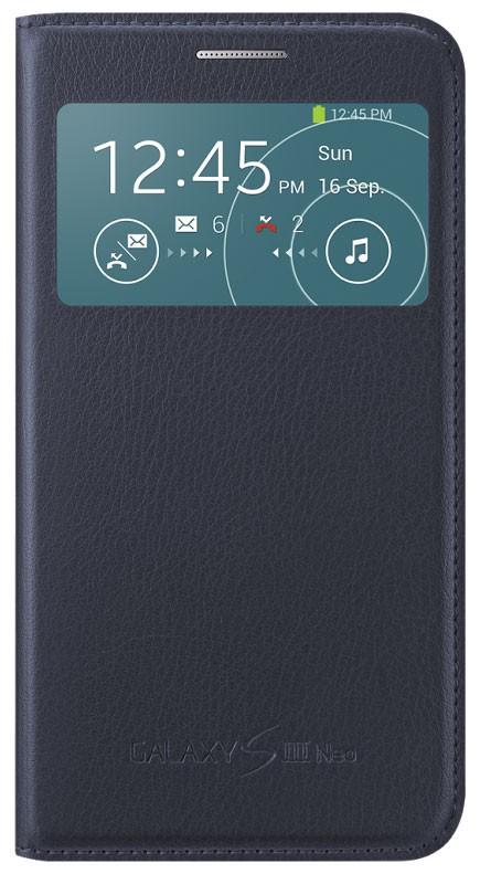 EF-CI930BL Samsung S-View Pouzdro pro Galaxy S3 Neo i9301 Indigo Blue (EU Blister)