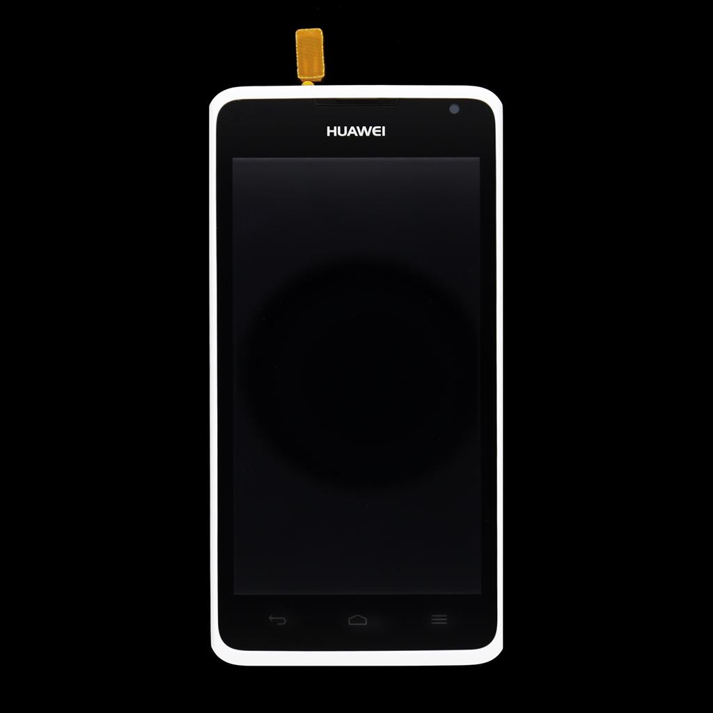 Huawei Ascend Y530 LCD Display + Dotyková Deska + Přední Kryt White