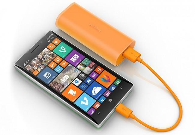 Nokia DC-21 záložní zdroj micro USB 6000mAh,Orange