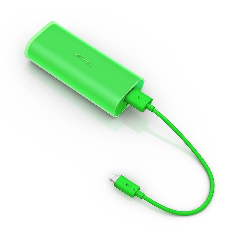 Nokia DC-21 záložní zdroj micro USB 6000mAh, Green