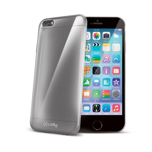 Silikonové pouzdro CELLY TPU Gelskin pro Apple iPhone 6 / 6S, bezbarvé