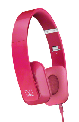 Nokia WH-930 HD Stereo Headset by Monster, Fuchsia