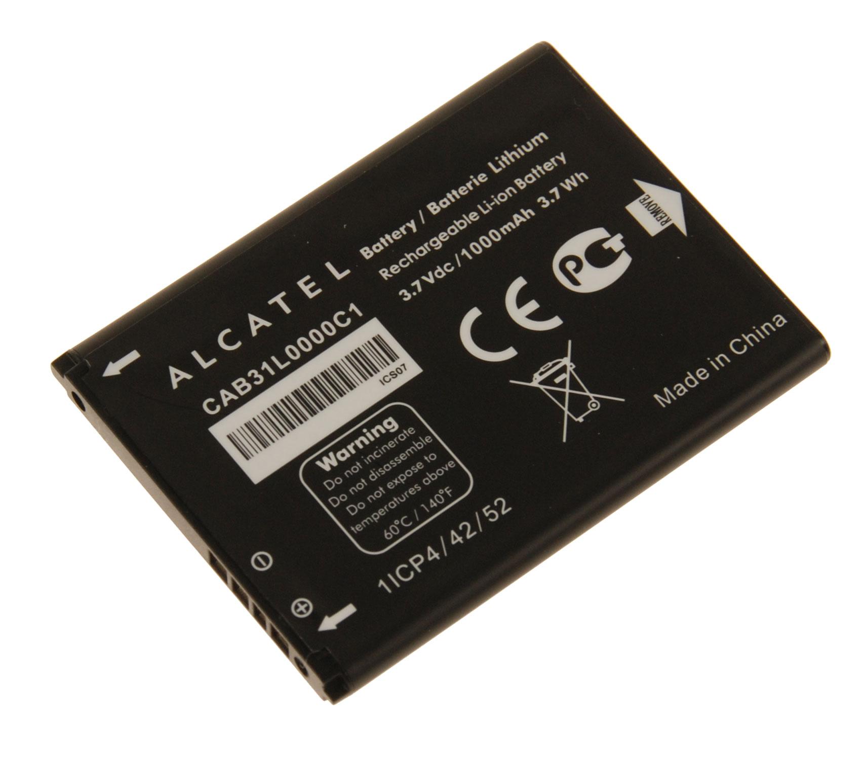 Originální baterie CAB31L0000C1 pro Alcatel One Touch 282/720D/3040D/2000X, 1000mAh