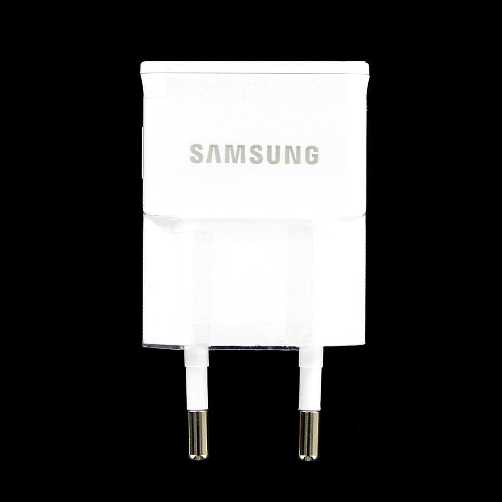 Originální cestovní nabíječka Samsung ETA0U83EWE s USB výstupem, 1A, White (Bulk)
