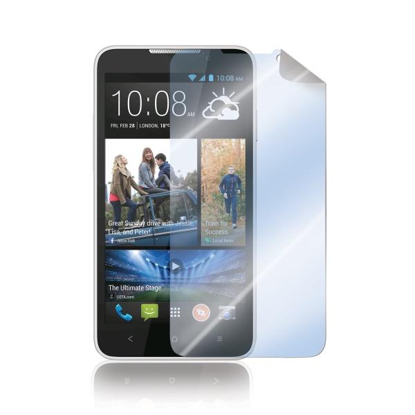 Prémiová ochranná fólie displeje CELLY pro HTC Desire 516, lesklá, 2ks