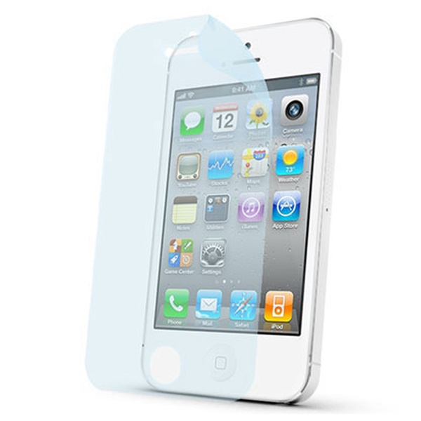 Prémiová ochranná fólie displeje CELLY pro Apple iPhone 4/4S, lesklá, 2ks